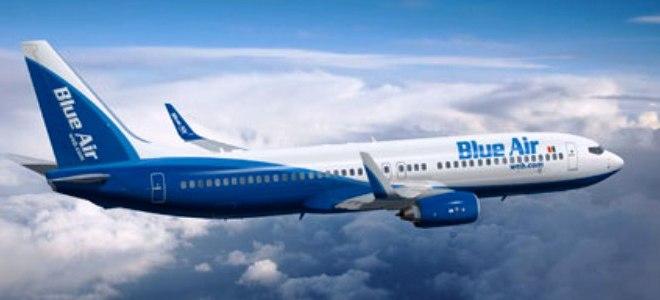 Pretul biletelor companiei low-cost Blue Air