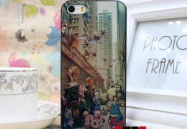 Vreti o husa TPU iPhone 5 5s Pokemon GO?