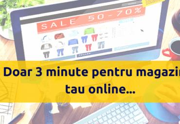Pasi pentru un magazin online