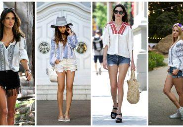 Combinatii vestimentare in care se poate purta ie romaneasca