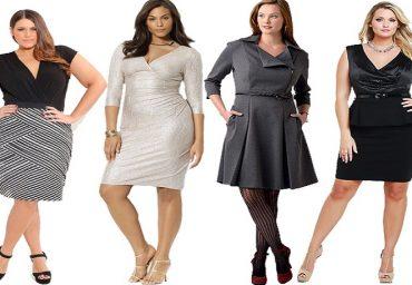 Cum isi aleg femeile plinute rochiile?